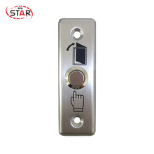 Metal Access Control Door Exit Button stainless steel Hot Sale switch push button