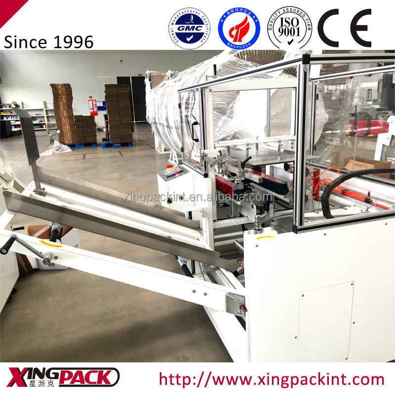 Automatic Carton Forming Machine for Milk Bag in Box Packing