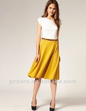 elegant ladies korean fashion dress