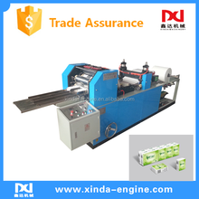 High speed paper handkerchief napkin making machine with low investment