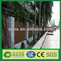 Wood Plastic Composite WPC Composit Fence Material