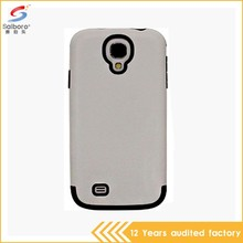 Latest high quality tpu with pc combination cover case for samsung galaxy s4 active i9295