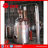 new product 2016 red copper pot still for sales
