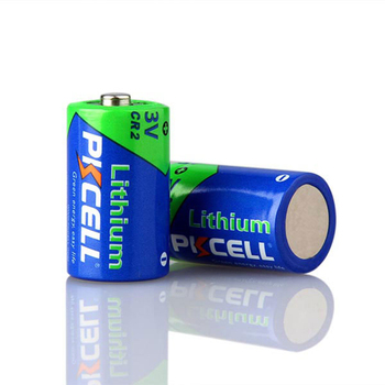 PKCELL 3V CR2 15270 CR14250 CR15H270 850mAh Lithium Cylindrical Li-MnO2 Battery For Digital Product