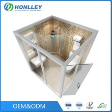 Guangzhou bathroom glass shower cubicle enclosure, steam bath shower cubicle price