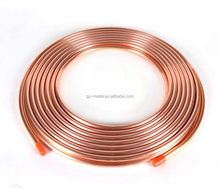Geothermal heating and cooling Application and Pancake Coil Copper Pipe Type geothermy geothermal heating cooling