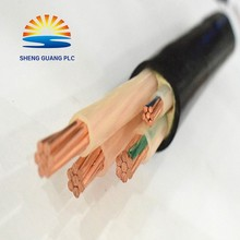 VV PVC XLPE Insulated PVC sheath oxygen free copper wire Power Cable manufacturer