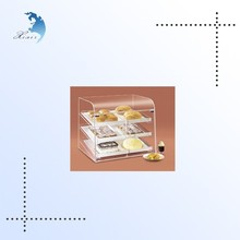 High quality eco-friendly clear acrylic cupcake display cabinet