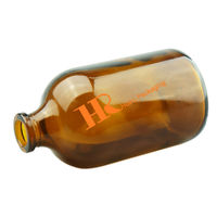 Amber aromatherapy bottle aroma diffuser bottle empty glass bottle