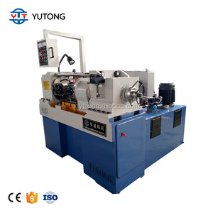Automatic thread rolling screw making machine steel round bars screw thread rolling machine