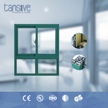 Tansive construction double glazed windtight wood and aluminum pictures sliding windows