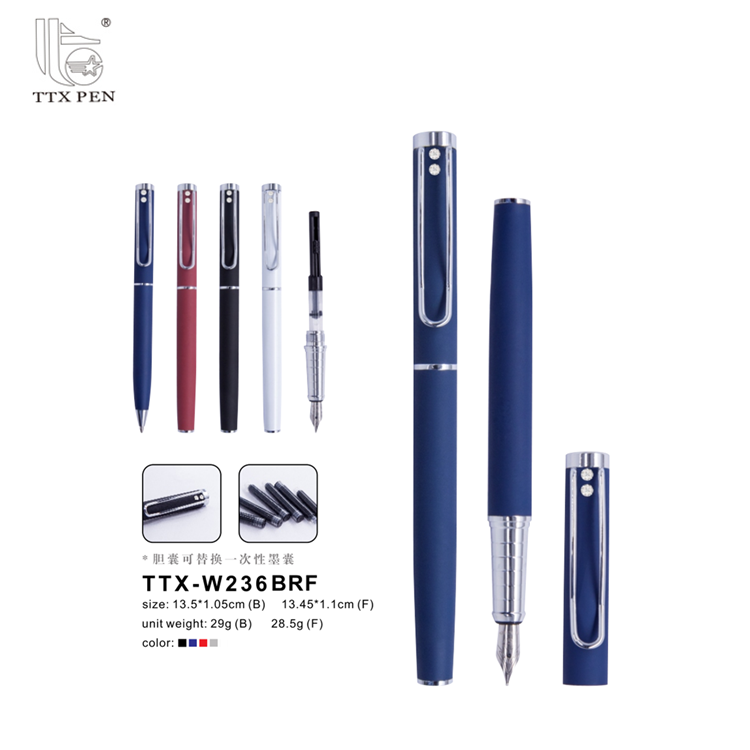 2018 Factory Direct Customized Luxury Metal Fountain Pen for Europe and America Market