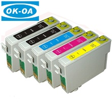 High quality compatible printer ink cartridge T0481/T0482/T0483/T0484/T0485/T0486 for Epson