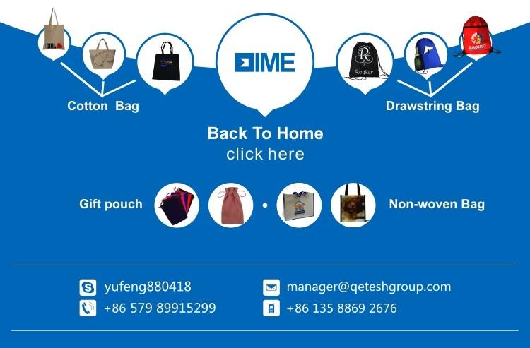 Wholesale Fashion Promotional Cheap Shopping Bag Drawstring Backpack