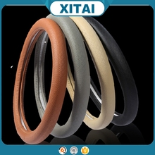 Summer cool Hot sale Xitai car accessories pu leather cover steering wheel art.-no.43