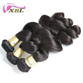 XBL factory price drop shipping brazilian virgin human hair loose wave