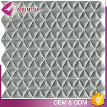 Hot Sale Clear Floor Triangle Glass Tiles Mosaic Swimming Pool