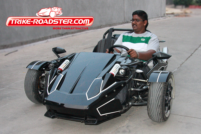 250CC zongshen engine trike roadster ztr 4gears with reverse