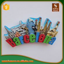 Personalized Rubber Fridge Magnet City for Travel