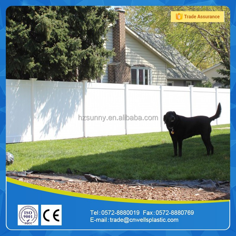 Hot Sale Low Price PVC Fence