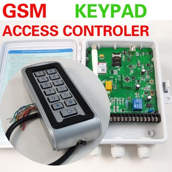 GSM remote access control board,GSM Keypad access controller