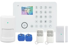 Hot sale new products wifi smart home ! Wifi alarm Control panel work with many wireless IP camera !