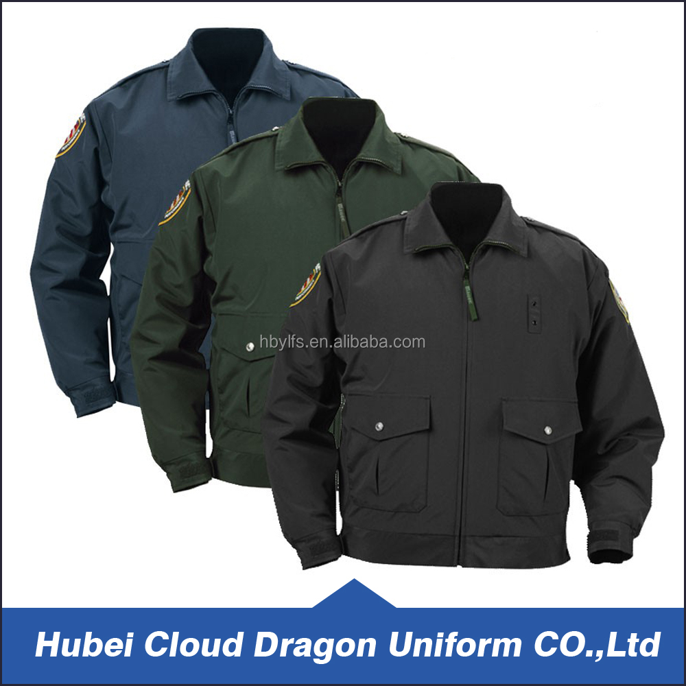 Duty jacket for security guard lastest short coat designs for men