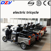 disabled 500w mobility scooter trike open type cargo tricycle