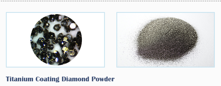Industrial Synthetic Ti Nickel Coated Diamond Powder Coating