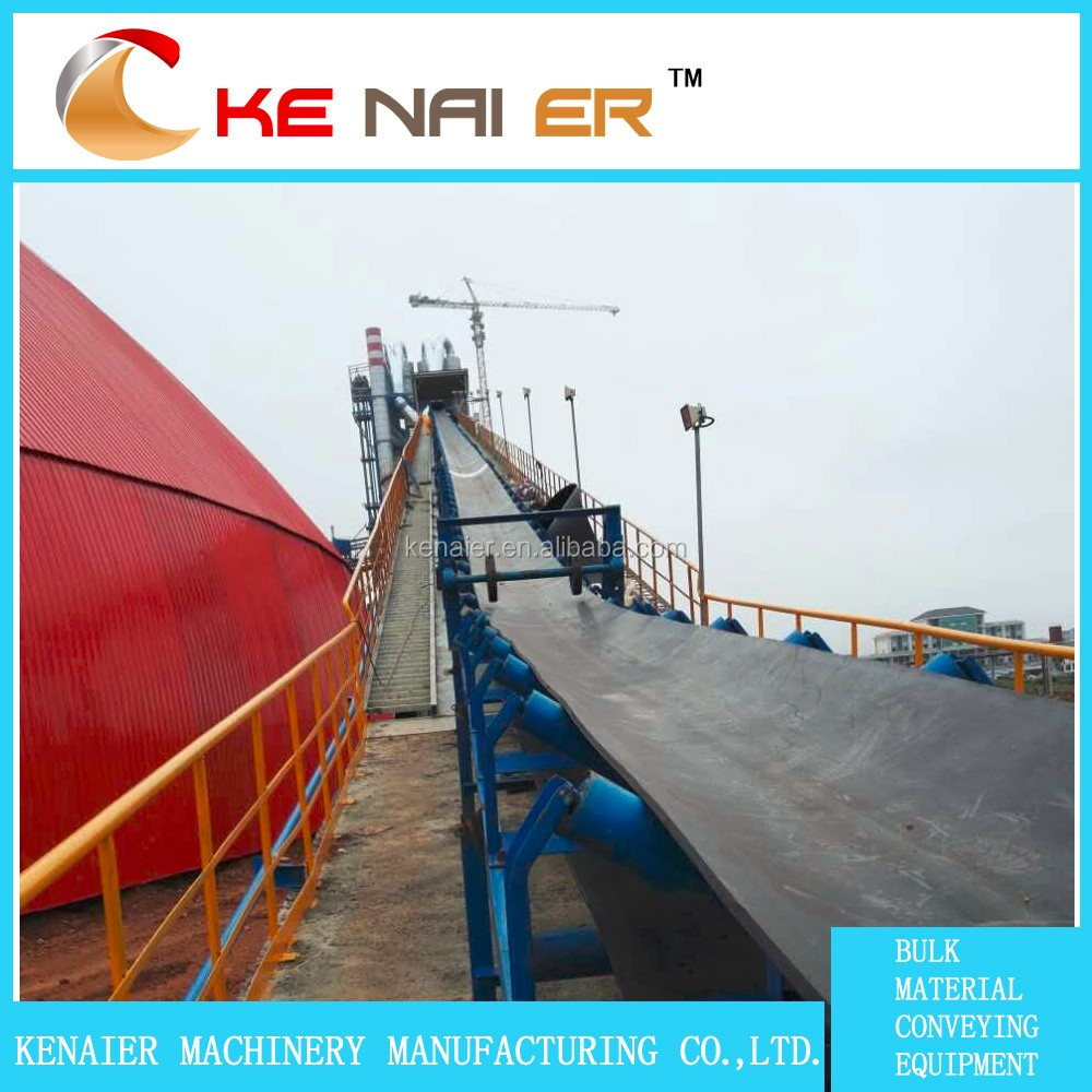mine belt conveyor made in China with ISO General industrial equipment