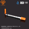 Insulin syringes 0.5ml/ 1ml factory 29G/30G China