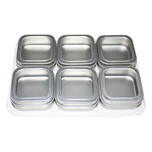 Brand new food grade small square tin container with cheap price