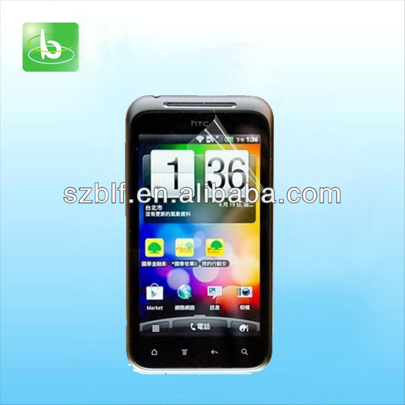 New model hot sale screen protector for HTC Incredible E NFC 4'' factory manufacturer