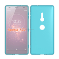 Matte design tpu soft cell phone cover For Xperia XZ2 gel case