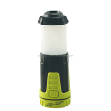 2017 Hot sales outdoor 2 in 1 led camping lantern 1 LED + 2 Red SMD LED 3AAA battery