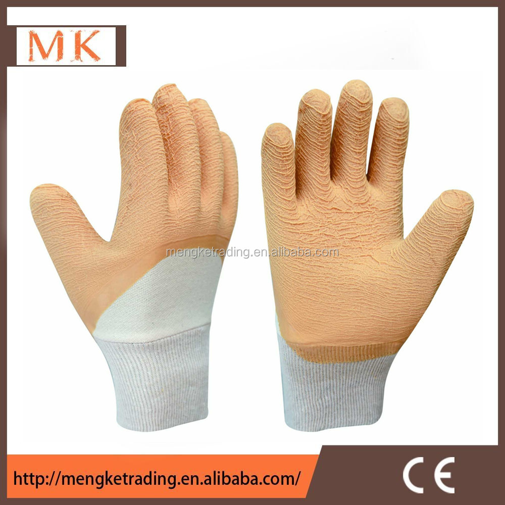 Latex Glass Gripper Glove