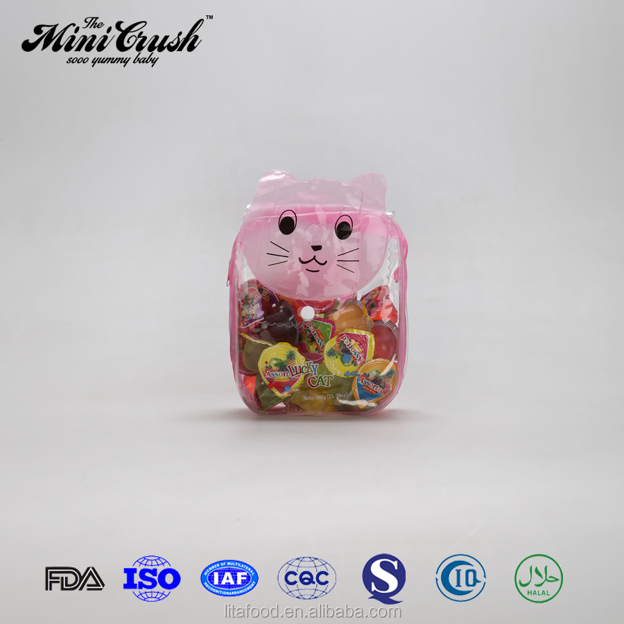 Enticing 40pcs lucky cat gift bag assorted jelly