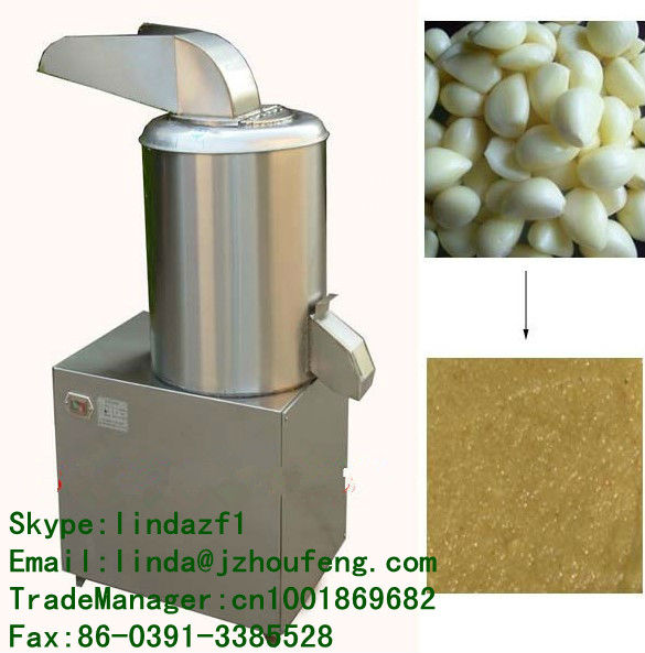 stainless steel ginger garlic paste machine/fruit jam making machine/vegetable sauce making machine