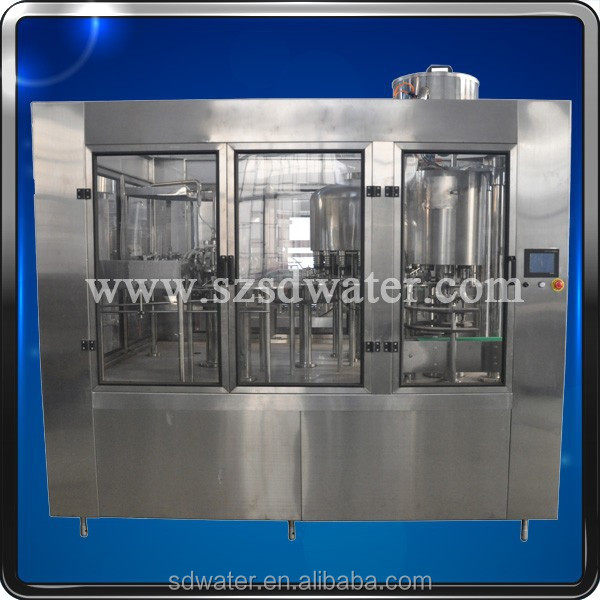 Automatic Filling Plant for Small PET Bottled Water Products