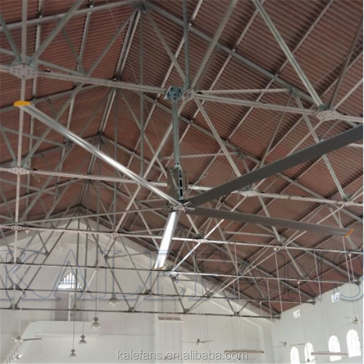 Factory 6.1M Energy Saving HVLS Large Industrial Ceiling Fan Low Consumption