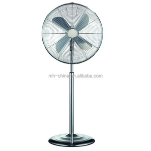 18 inch Antique stand fan with metal blade made in China