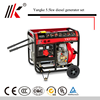 HOME VERTICAL WIND 5.5KW / KVA CHEAP DIESEL GENERATORS FROM CHINA SUPPLIER