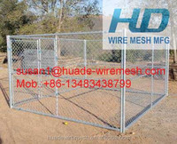 Portable Chain Link Kennels/chain link panel