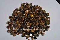 Tiger Eye Tumbled Stone / Wholesale Healing Tumble Stone / Gemstone Tumbled Stone