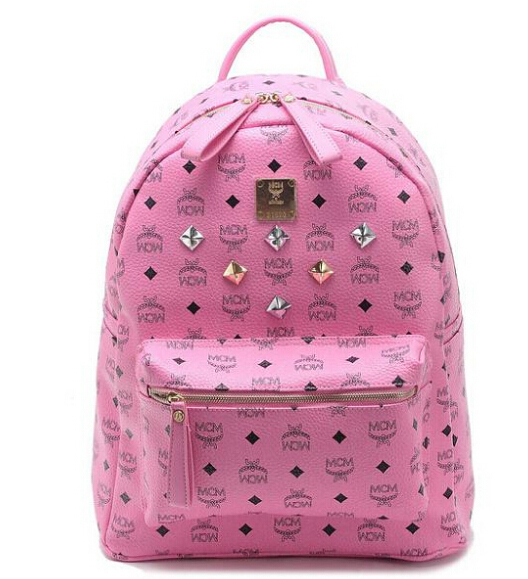 2015 Full Rivets Sparkle Backpack Unisex Punk Style American and European Most Popular Bag Schoolbag Daypack Drop Shipping