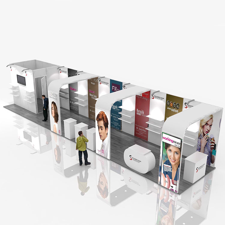High Quality Wholesale Custom Cheap exhibition stand for trade show display equip modular booth/trade booth/display