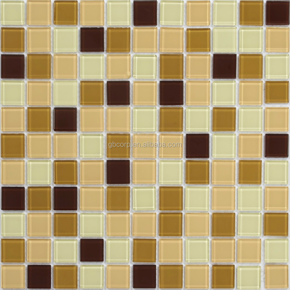 Hot Sale Border Mosaic Wholesale Price Glass Mosaic Tile in High Quality Nice Glass Mosaic For Swimming Pool Tile