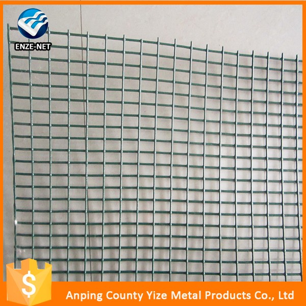 Commercial Utility 2x2 Galvanized black vinyl coated Welded Wire Mesh for Fence Panel
