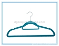 Customized Velvet Flocked Clothes Hanger