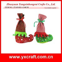 christmas decoration (ZY14Y452-1-2 40CM) Christmas boot shoe gift ornament